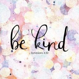 Be Kind, inspirational scripture art, hand lettering, from StudioJRU