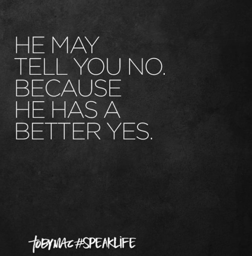 hemaytellyou know because he has a better yes