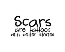 scars tatoos