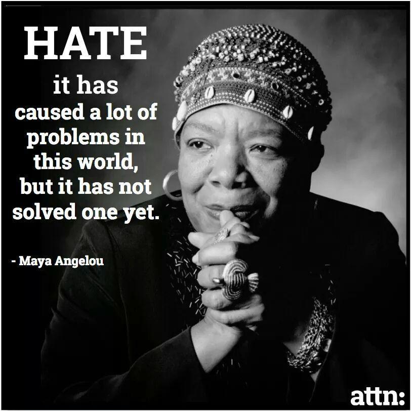 maya on hate
